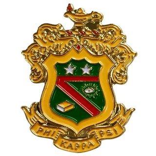 Phi Kappa Psi Color Crest - Shield Pins