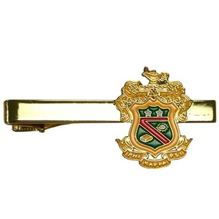 Phi Kappa Psi Color Crest - Shield Tie Clips