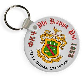 Phi Kappa Psi Color Keychains