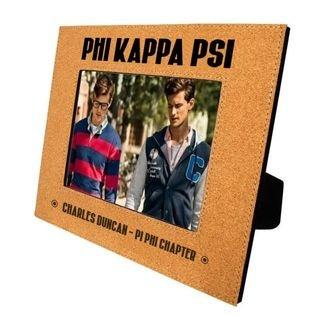 Phi Kappa Psi Cork Photo Frame