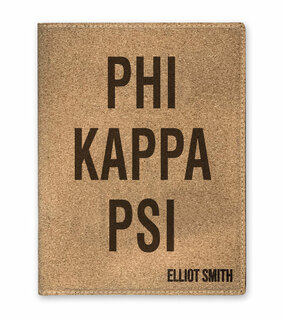Phi Kappa Psi Cork Portfolio with Notepad
