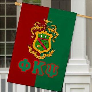Phi Kappa Psi Crest House Flag