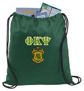 Phi Kappa Psi Crest - Shield Cinch Sack