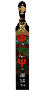 Phi Kappa Psi Custom Full Color Paddle