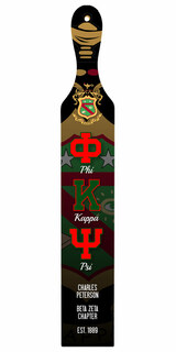 Phi Kappa Psi Custom Full Color Paddle