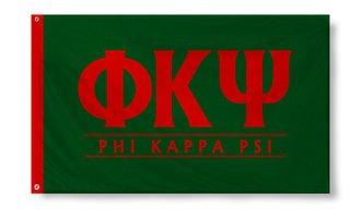Phi Kappa Psi Custom Line Flag