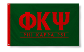 Phi Kappa Psi Custom Line Flag