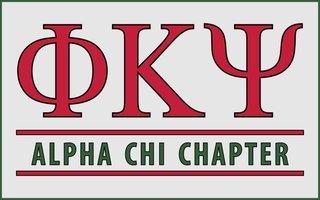 Phi Kappa Psi Custom Line Sticker Decal