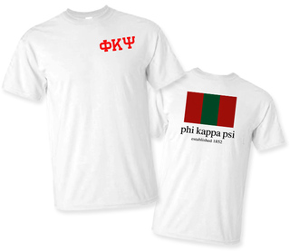 Phi Kappa Psi Flag T-Shirt