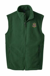 Phi Kappa Psi Fleece Crest - Shield Vest