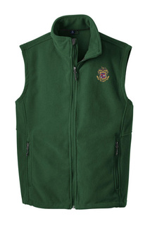 Phi Kappa Psi Fleece Crest - Shield Vest