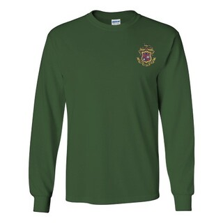 DISCOUNT-Phi Kappa Psi Fraternity Crest - Shield Longsleeve Tee