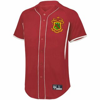Phi Kappa Psi Game 7 Full-Button Baseball Jersey