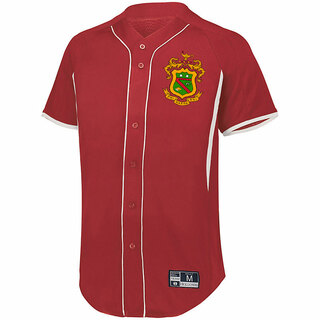 Phi Kappa Psi Game 7 Full-Button Baseball Jersey