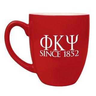 Phi Kappa Psi Greek Bistro Mug