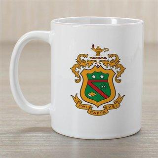 Phi Kappa Psi Greek Crest Coffee Mug