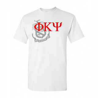 Phi Kappa Psi Greek Crest - Shield T-Shirt