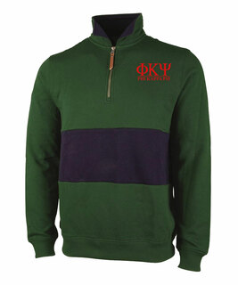 Phi Kappa Psi Greek Letter Quad Pullover