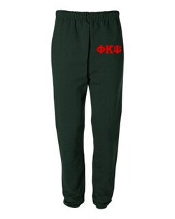 Phi Kappa Psi Greek Lettered Thigh Sweatpants