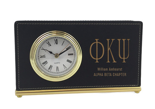 Phi Kappa Psi Horizontal Desk Clock