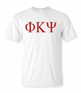 Phi Kappa Psi Lettered Tee - $9.95! - MADE FAST!