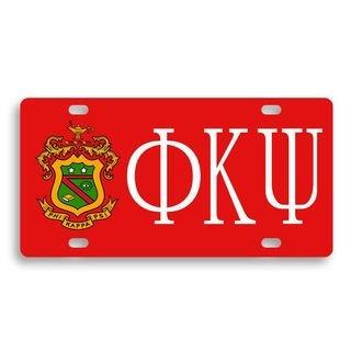 Phi Kappa Psi License Cover