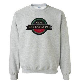 Phi Kappa Psi Logo Crewneck Sweatshirt