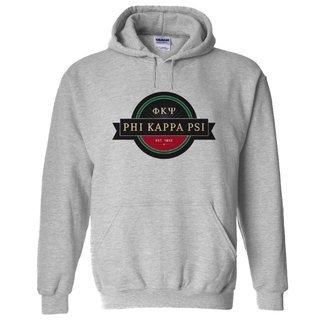 Phi Kappa Psi Logo Hooded Sweatshirt