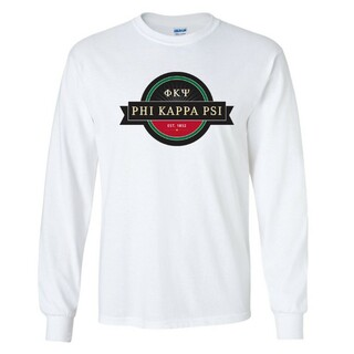Phi Kappa Psi Logo Long Sleeve Tee