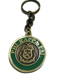 Phi Kappa Psi Metal Fraternity Key Chain
