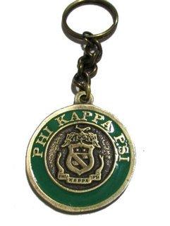Phi Kappa Psi Metal Fraternity Key Chain