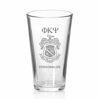 Phi Kappa Psi Mixing Glass