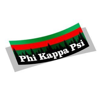Phi Kappa Psi Mountain Decal Sticker