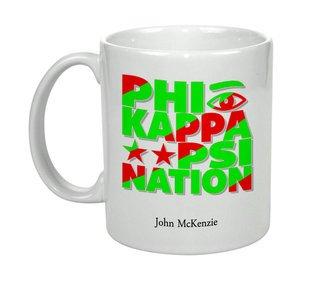 Phi Kappa Psi Nations Coffee Mug