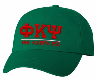 Phi Kappa Psi Old School Greek Letter Hat