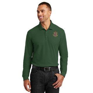 DISCOUNT-Phi Kappa Psi Emblem Long Sleeve Polo