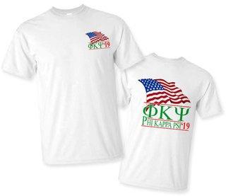 Phi Kappa Psi Patriot Limited Edition Tee- $15!
