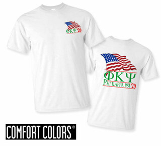 Phi Kappa Psi Patriot  Limited Edition Tee - Comfort Colors