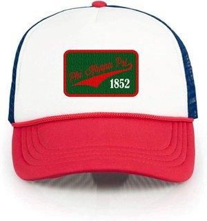 Phi Kappa Psi Red, White & Blue Trucker Hat