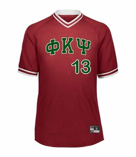 Phi Kappa Psi Retro V-Neck Baseball Jersey