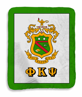Phi Kappa Psi Sherpa Lap Blanket