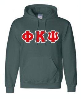 Phi Kappa Psi Sewn Lettered Sweatshirts