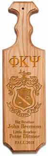 Phi Kappa Psi Traditional Greek Paddle