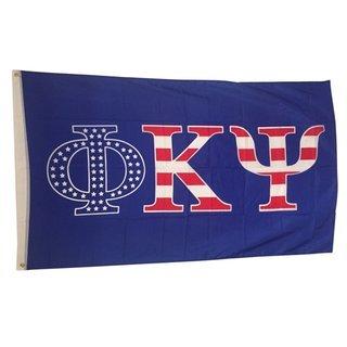 Phi Kappa Psi USA Greek Letter Flag