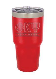 Phi Kappa Psi Vacuum Insulated Tumbler