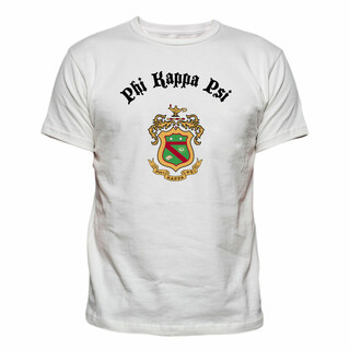 Phi Kappa Psi Vintage Crest - Shield T-shirt