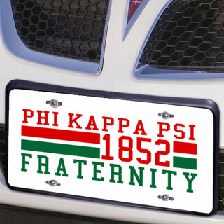 Phi Kappa Psi Year License Plate Cover