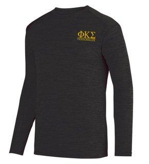 Phi Kappa Sigma- $20 World Famous Dry Fit Tonal Long Sleeve Tee