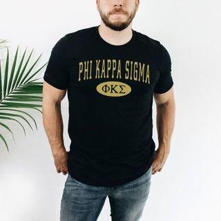 Phi Kappa Sigma arch tee