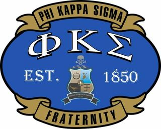 Phi Kappa Sigma Banner Crest - Shield Decal